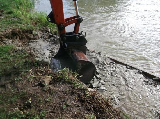 réparation des fuites au niveau du chêne